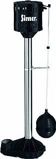 Simer 5023SS 1/3 HP Pedestal Sump Pump