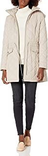 Calvin Klein womens Womens Quilted Jacket With Hood