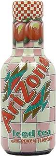 AriZona - Iced Tea - Peach - 500ml (Pack of 6)