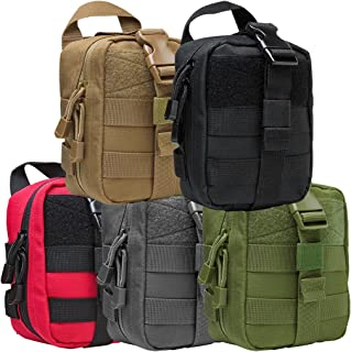 Tactical Compact MOLLE PALS EMT Medical First Aid Utility Organize Supplies Pouch Rip-Away