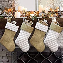 Best gold satin christmas stockings Reviews