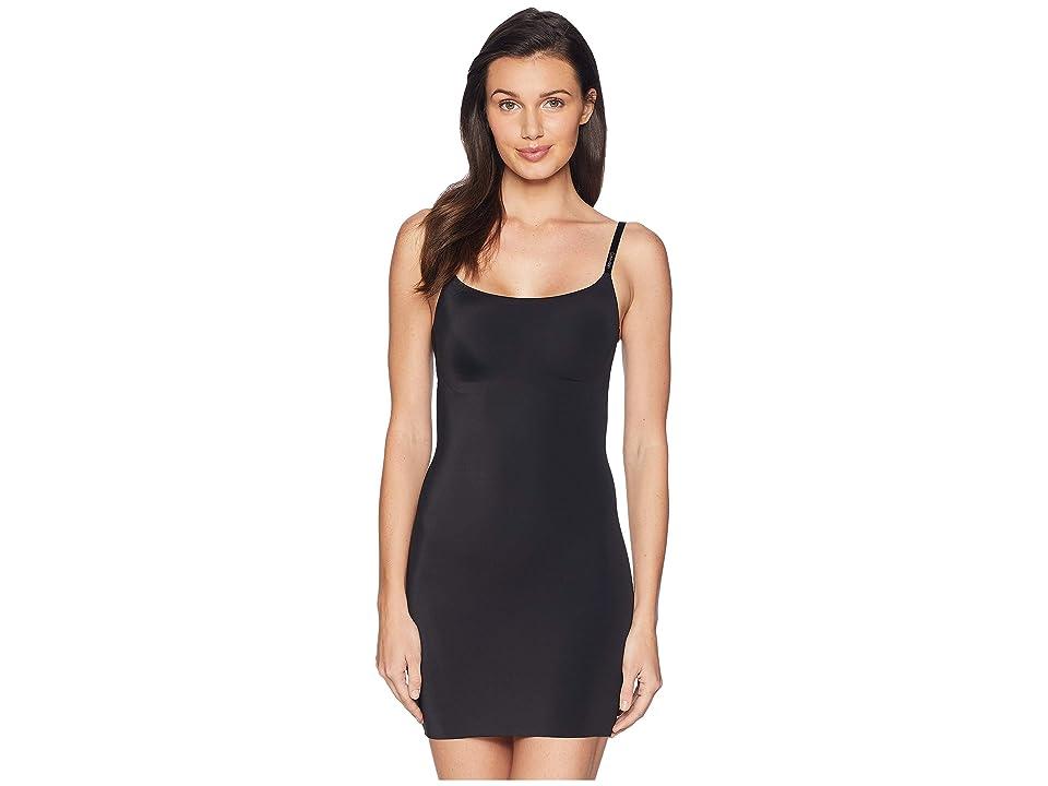 Calvin Klein Underwear Invisibles Full Slip (Black) Women