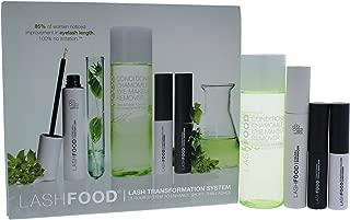 Lashfood, Lash Transformation Kit, 1 Month Supply - Lfklts - T - Black