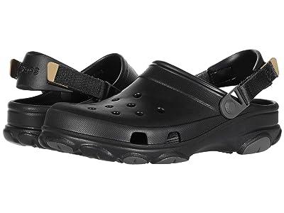 Crocs Classic All Terrain Clog (Black) Clog Shoes