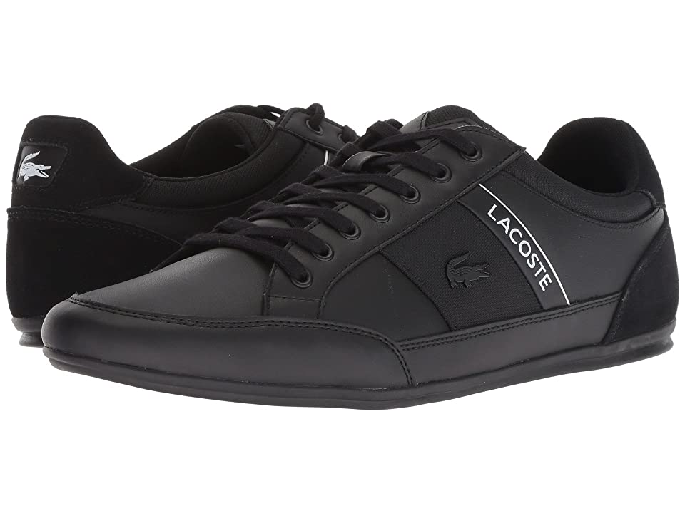 Lacoste Chaymon 318 5 US (Black/White) Men