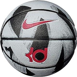 f119aca8443 Bola de Basquete Nike KD Mini Tamanho 3 - Branca com Preta