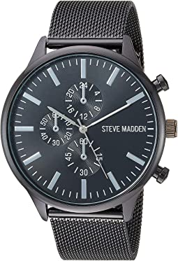 Multifunction Dial Men Alloy Band Watch SMW187