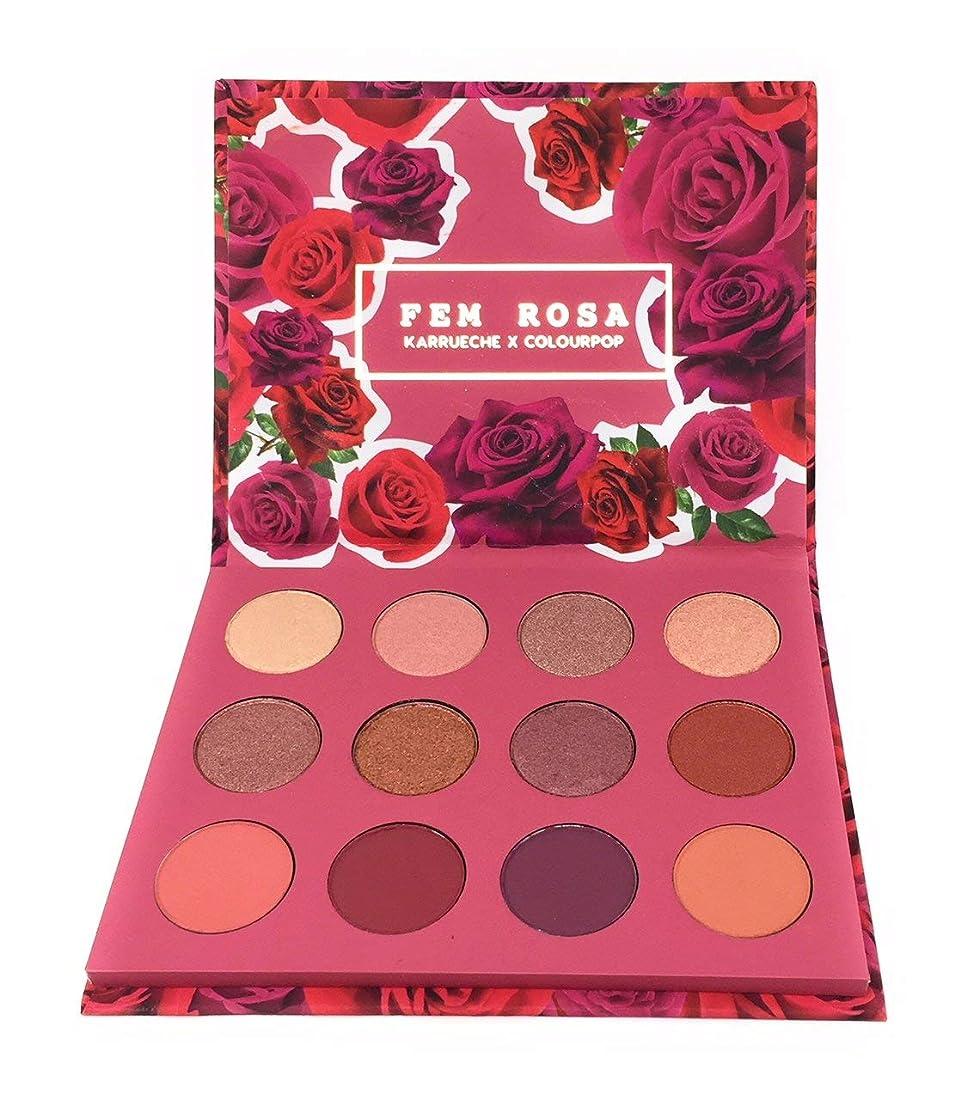 円形春センサーカラーポップ Colourpop She - Pressed Powder Shadow Palette