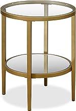 Henn&Hart End Table, 1, Gold