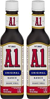A1 Steak Sauce, Original, 10 Oz (2 Pack)