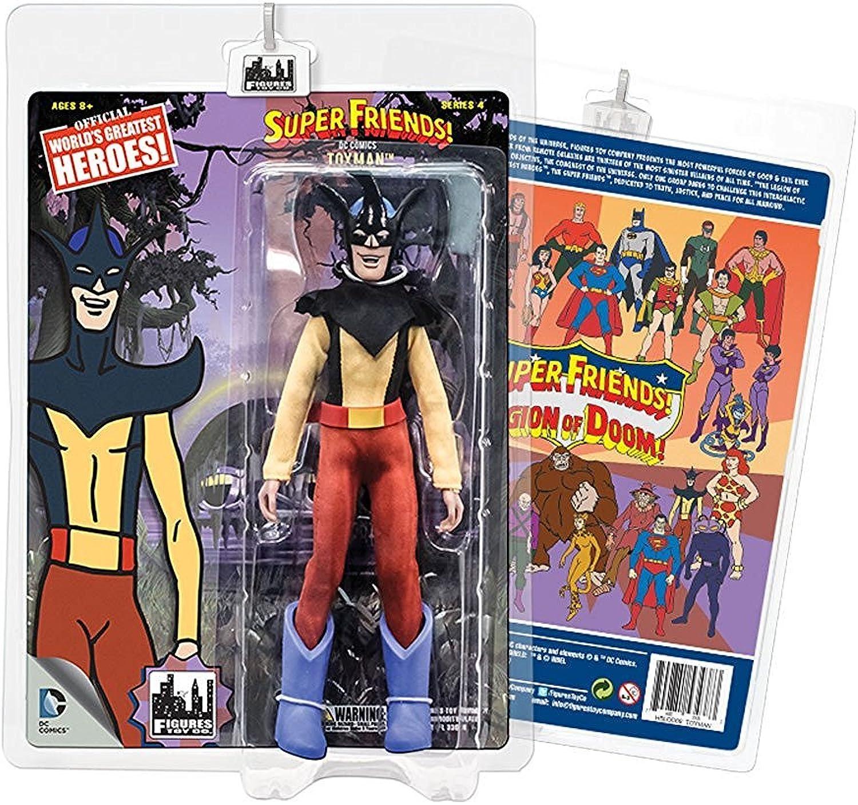 Action Figuren–DC SuperFriends Series 4toyman 20,3cm dcsf401