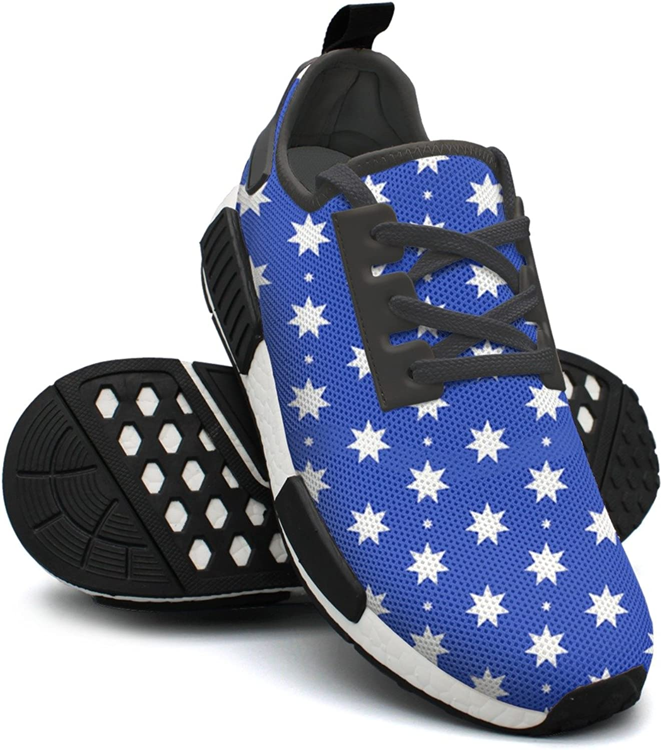 bluee Australia Flags Stars Women's Vintage Lightweight Sneaker Gym Outdoor Athletic shoes