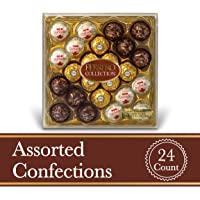 24-Count Ferrero Rocher Fine Hazelnut Milk Chocolates (9.1 oz)