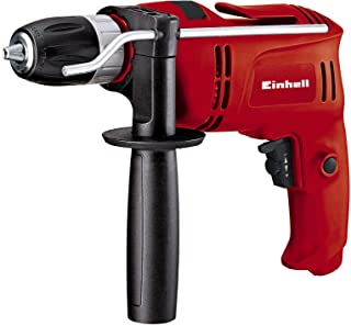 Sponsored Ad – Einhell Percussion Drill TC-ID 650 E (650 W, 0 - 2600 1/Minute Rotational Speed, Auxiliary Handle with Fixa...