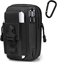 Tactical Molle Pouch EDC Gadget CCW Fanny Pack with Cell Phone Holster