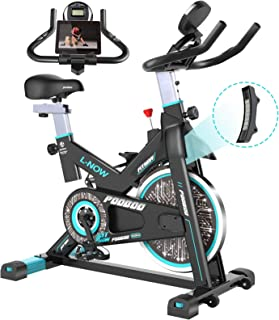 pooboo Magnetic Indoor Cycling Bike, Belt Drive Indoor Exercise Bike,Stationary Bike LCD Display for Home Cardio Workout B...