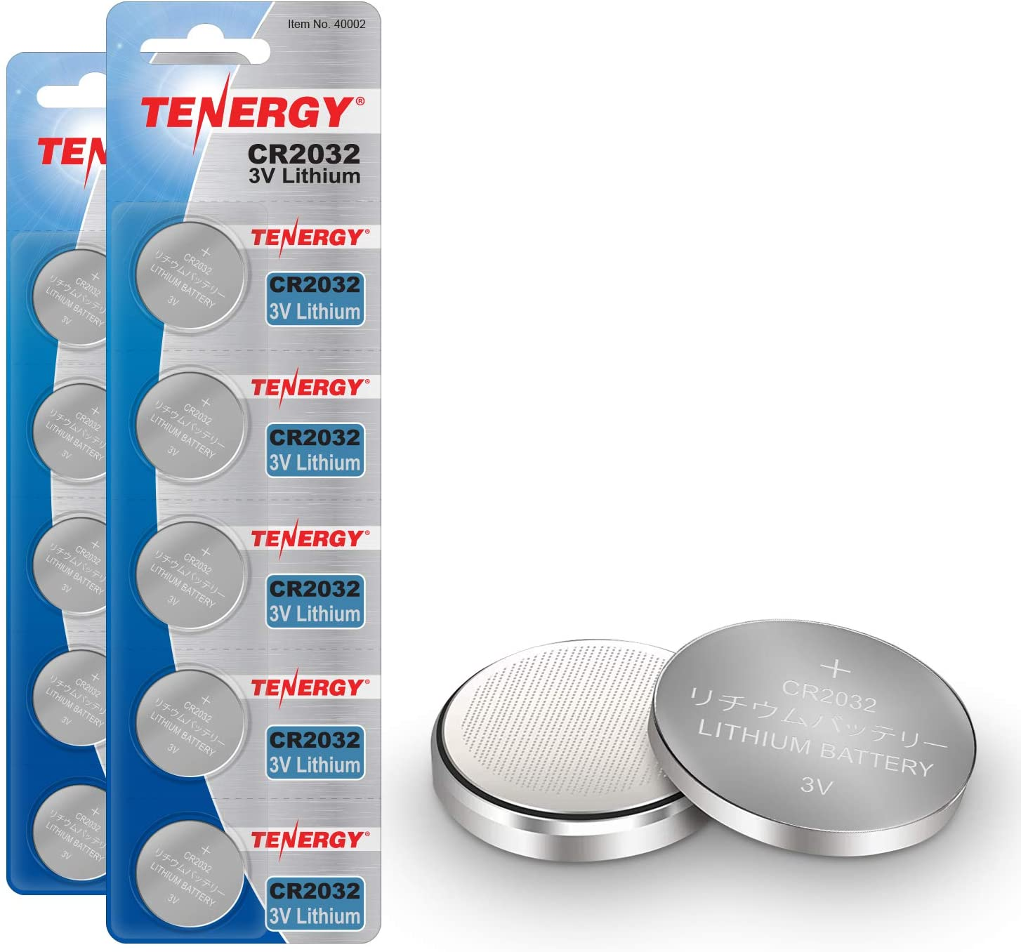 Tenergy 3V Superior CR2032 Batteries Lithium Coin Batte Button 2032 El Paso Mall Cell