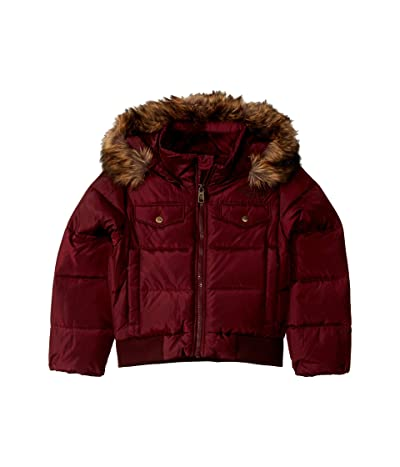 The North Face Kids Gotham Down Bomber Jacket (Little Kids/Big Kids) (Deep Garnet Red) Girl
