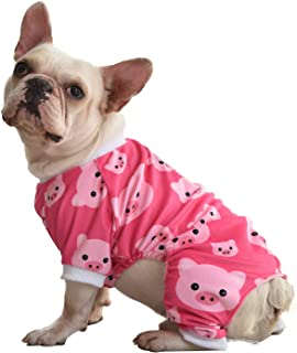 CuteBone Dog Pajamas Cute Cat Clothes Pet Pjs Onesie