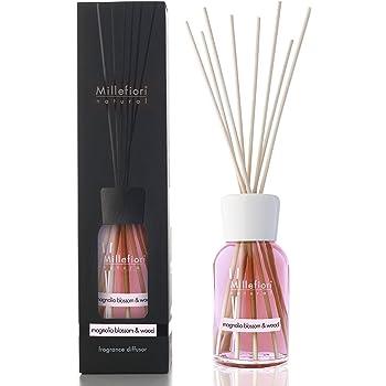 Millefiori Milano diffusore di fragranza per ambienti | Magnolia Blossom & Wood | 250 ml di fragranza