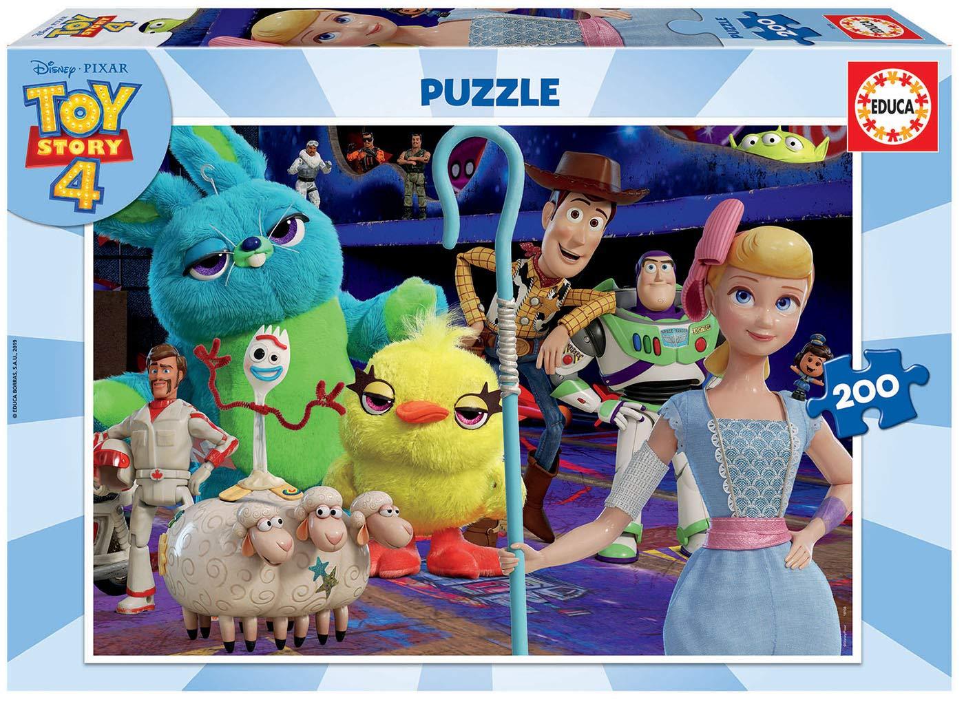 Educa- Toy Story 4 Puzzle infantil de 200 piezas, a partir de 6 años (18108): Amazon.es: Juguetes y juegos