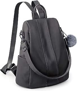 UTO Women Backpack Purse Waterproof Nylon Anti-Theft Rucksack Lightweight School Shoulder Bag
