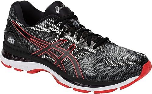 Gel-Nimbus 20 Hommes's FonctionneHommest chaussures, noir rouge Alert, 7 D(M) D(M) US  obtenir la dernière