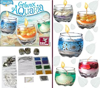 Toy Kraft Gelwax Candles-Aquaria