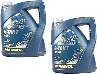 Motorenöl für 4 Takt Traktoren Rasenmäher Agro SAE 30 MANNOL API SG 8 Liter