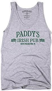 Superluxe Clothing Mens Paddys Irish Pub St Patricks Day Bar Tri-Blend Tank Top