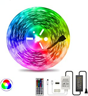 LED Strip Light RGB NUOENXUAN Flexible Rope Lights 5050 SMD RGB 480 LEDs Non Waterproof Tape...