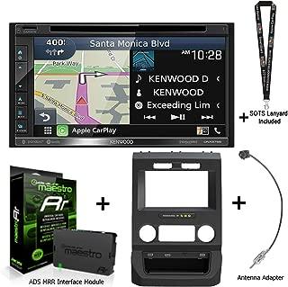 Kenwood DNX576S Navigation Receiver + ADS Dash kit for Ford Pickups KIT-FTR1 + ADS-MRR with Sound of Tri-State Lanyard Bundle
