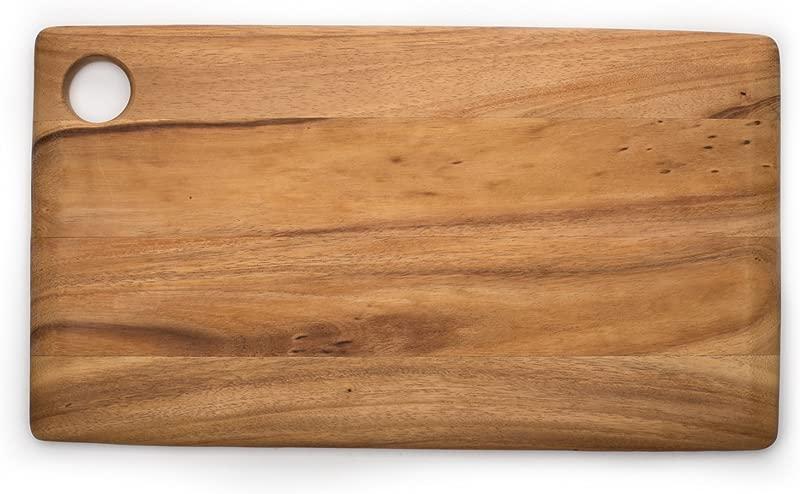Ironwood Gourmet 28215 Rectangular Copenhagen Board Acacia Wood