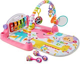 Fisher-Price Deluxe Kick and Play Piano Gym & Maracas
