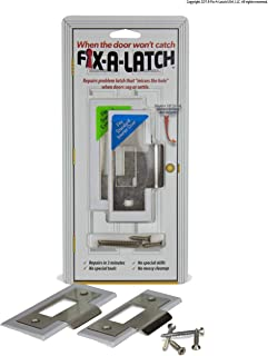 Fix-A-Latch Mixed 2-Pack with Satin Nickel