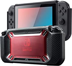 Nintendo Switch Protective Case, Carrying Case for Nintendo Switch, Nintendo Switch Shell with Screen Protector, Heavy Duty Protective Hard Shell, 360 Degree Full Enclosure Protection