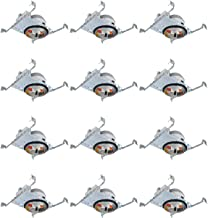 """ESD Tech 12 Pack 6"""" Inch New Construction LED Recessed Can Slim Housing, Air Tight, IC Rated, Shallow. for Retrofit Down Lights – UL Listed and Title 24 Certified (TP24 Connector)"""