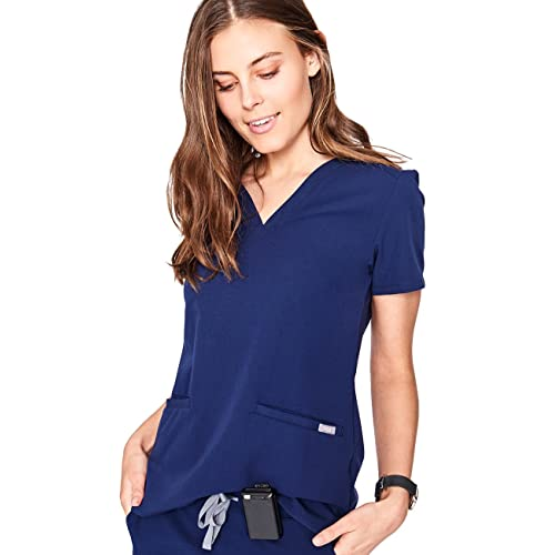 a1678734ea0 FIGS Casma Three-Pocket Scrub Top for Women – Tailored Fit, Super Soft  Stretch