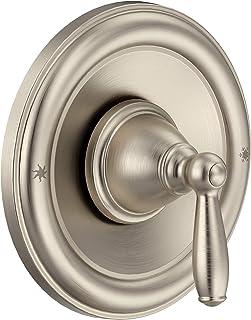 Moen T2151BN Brantford Posi-Temp Pressure Balancing Traditional Tub and Shower Valve Trim Kit Valve Required, Brushed Nickel