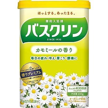 【医薬部外品】バスクリン入浴剤  カモミールの香り600g(約30回分) 疲労回復