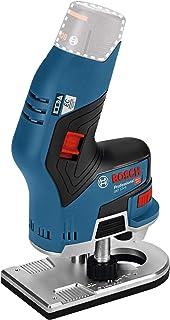 Bosch Professional 12V System sladdlös handöverfräs GKF 12V-8 (frässkaft: 8mm, utan batterier och laddare, i kartong)