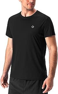 NAVISKIN Men's Quick Dry Workout Running Athletic Short Sleeve T-Shirt Outdoor Shirt
