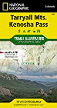 Tarryall Mountains, Kenosha Pass (National Geographic Trails Illustrated Map)