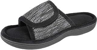 RockDove Women's Adjustable Wrap Memory Foam Slide Slipper