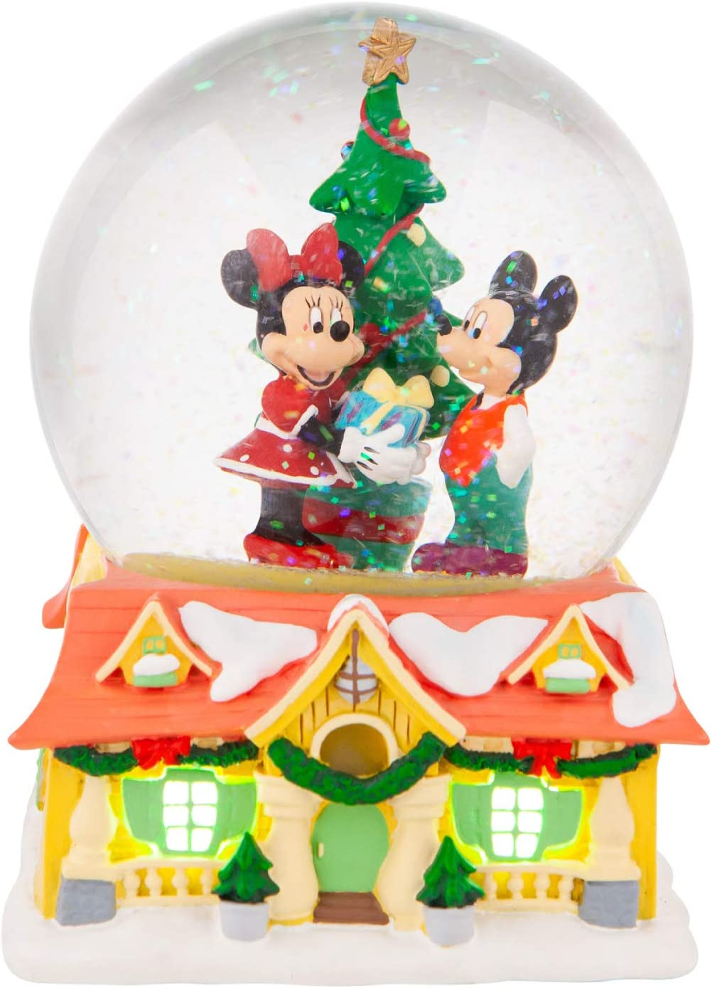 Ranking Max 84% OFF TOP5 Department 56 Disney Mickey and Mouse Waterball Minnie House Lit