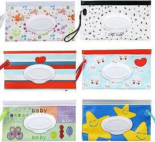 comprar comparacion bolsa para toallitas húmedas Fiyuer 6 dispensador de toallitas húmedas bebe bolsas reutilizables para Viajes Bebés respetu...