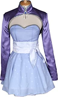 Anime Weiss Schnee Cosplay Costume Short Dress