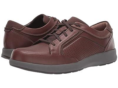 Clarks Un Trail Form (Mahogany Leather) Men
