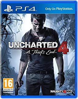 Uncharted 4: A Thief's End by Naughty Dog - PlayStation 4 - 2724326017334
