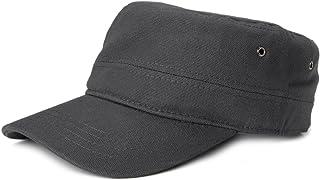 Gorra en Estilo Militar de Tela de algodón Robusta, Ajustable, Unisex 04023020